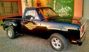 100 1975 Dodge Truck Stepside Black Magic Express Built By Me