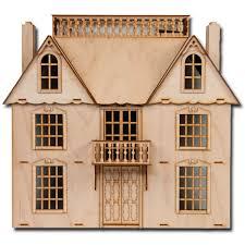 Personalized DIY Hawaii Villa Wooden Miniature LED Dollhouse Kit