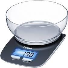 balance de cuisine numérique numérique avec récipient de mesure