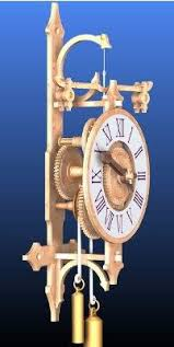 Free Scroll Saw Wooden Gear Clock Plans the 25 best wooden clock plans ideas on pinterest wooden gears