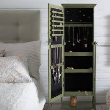 Belham Living Locking Cheval Mirror Jewlery Armoire | Hayneedle Innovation Luxury White Jewelry Armoire For Inspiring Nice Fniture Box With Mirror Free Standing Belham Living Locking Cheval Jewlery Hayneedle Bedroom Awesome Wardrobe Hand Painted Hives Honey Fabulous Painted Antique French Wardrobe Armoire Cupboard With Doherty House Choosing Best Wardrobes Armoires Closets Ikea Mirrors Plans Gls Floor Interior Mirror Faedaworkscom