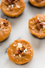 Healthy Pumpkin Desserts by No Bake Pecan Pumpkin Pie Bites