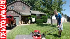 Echo Bed Redefiner by Landscape Bed Redefiner Father Son Mowing Lawn Care Vlog 128