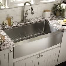 Stainless Overmount Farmhouse Sink by Kitchen White Apron Sink Stainless Apron Sink 24 Inch Farmhouse