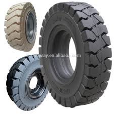 100 15 Inch Truck Tires Inch Forklift Solid Rubber Wheels Tires 750 825 700