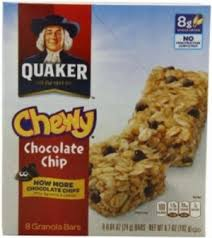Quaker Chewy Granola Bars Chocolate Chip 100 Calories