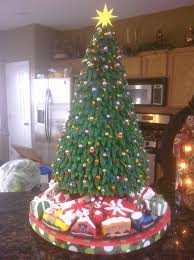Christmas Tree Cake On Central