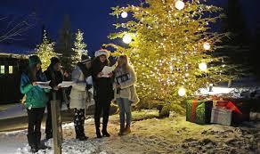 Kinds Of Christmas Tree Lights by Holiday Decor U0026 Lighting Promontory Club