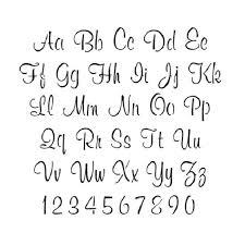 Beautiful Cursive Letters Letters Font