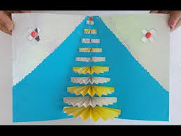 Pop Up Greeting Cards Making Handmade Card How To Make An Easy