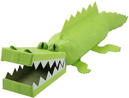 Kids Recycling Art Project To Make A Trash Gator