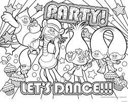Coloriage Party Lets Dance Dessin