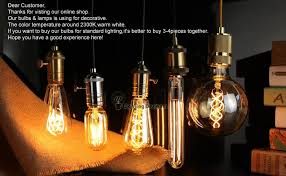 big size r135 edison bulb vintage edison light bulb loop