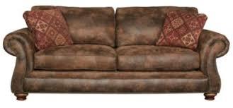 broyhill laramie microfiber sofa with nailhead homemakers furniture