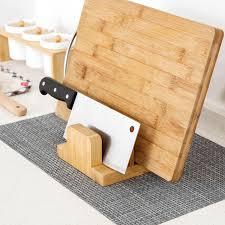 tourelle cuisine étagère en bois tourelle couvercle rack fournitures de cuisine