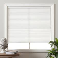 Light Filtering Privacy Curtains by Arlo Blinds Pure White Light Filtering Cordless Cellular Shade