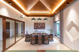 100 Bungalow House Interior Design A Calm Balinese Vibe Wafts Across This Lavish Ahmedabad