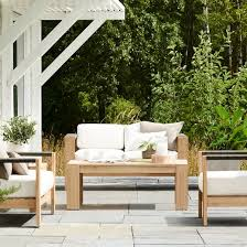 montpelier wood rope patio furniture collection smith hawken