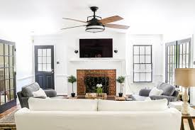 Squeaky Ceiling Fan Beat by Living Room Update Ceiling Fan Swap Bless U0027er House