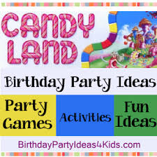 Candy Land Game Party Theme Ideas