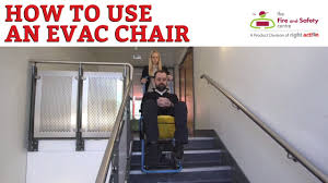Ferno Stair Chair Model 48 by How To Use An Evac Chair Youtube