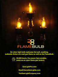 bulb new orleans gas lights