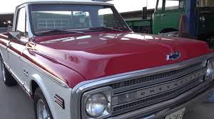 1969 Chevy C10 396 Big Block Classic Texas 69 Chevrolet C-10 Truck ...