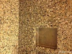 53 00 in pebbles from dollar store tile adhesive grout and wa