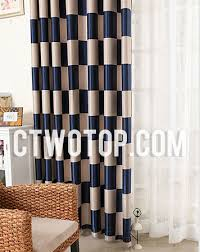 Noise Cancelling Curtains Dubai by Noise Reducing Curtains Color Block Striped Insulated Noise