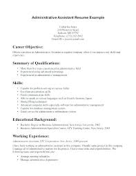 Business Administration Apprenticeship Cv Template Download Resume