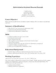 Business Administration Apprenticeship Cv Template Download Resume