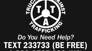 100 Stickers For Trucks Going On Trucks To Reach Human Trafficking Victims