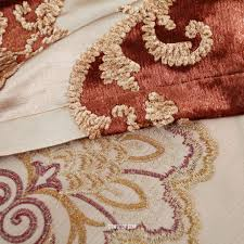 Sound Dampening Curtains Three Types Of Uses by Embroidery Sound Dampening Curtains With Coffee Color