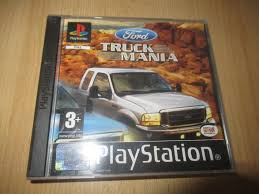 100 Truck Mania 1 Ford Sony PlayStation 2003 European Version For