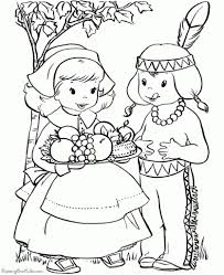Funny Thanksgiving Coloring Pages Az Throughout The Brilliant Along With Attractive Free