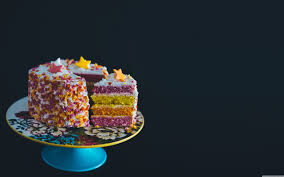 Colorful Birthday Cake ❤ 4K HD Desktop Wallpaper for • Wide