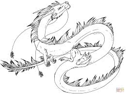 Chinese Dragon Coloring Page Pages Free Sheets