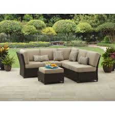Sofa Covers At Walmart by Better Homes And Gardens Fairwater 4 Piece Conversation Set