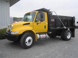 100 Single Axle Dump Trucks For Sale 2014 International 4300 Truck DT466 215HP