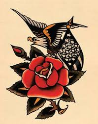 Norman Sailor Jerry Collins The Poet I Raise My Glass In A Toast Of Traditional Tattoo SleevesTraditional Rose
