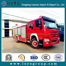 China Sinotruk HOWO Mini Emergency Fire Fighting Truck For Sale ...