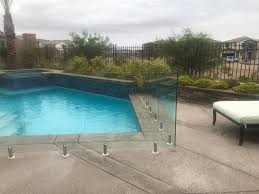 Case Study Las Vegas Glass Pool Fence Installation