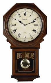 Large Quartz Wooden Chiming Wall Clocks In Living Room With Mechanical Pendulum Clock Ideas