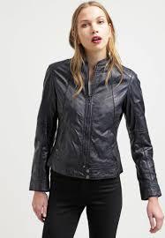oakwood jacket shop women jackets oakwood leather jacket navy
