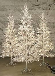 Pre Lit Twig Tree Outdoor Trees Artificial Primitive 5