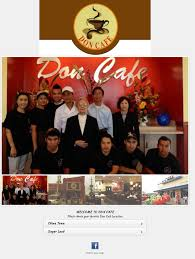 100 Don Cafe Competitors Revenue And Employees Owler Company