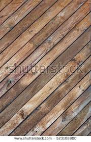 Rustic Wood Wall Vertical Texture Tiled Stock Photo 523108900