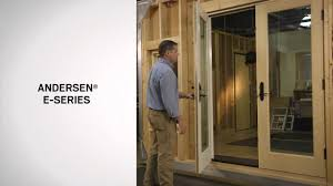 Anderson Outswing French Patio Doors by Identifying The Series Of Andersen Hinged Patio Doors Youtube