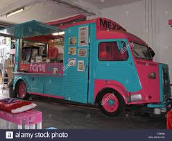 Mexican Food Truck KEHIDO!,Chancery Street,Dublin,Ireland Stock ...