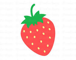 Strawberry clipart summer fruit 15